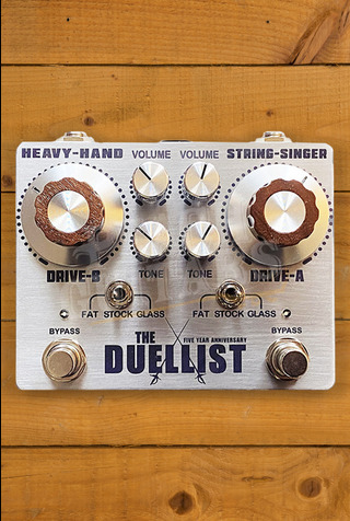 King Tone Guitar - The Duellist - Silver Edition