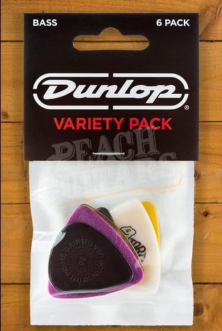 Dunlop Picks - Variety - Bass Picks - Player Pack 6