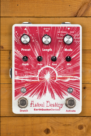 EarthQuaker Devices Astral Destiny Octal Octave Reverb Pedal