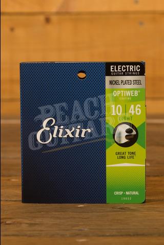 Elixir Electric Optiweb Strings - 10-46 (Light)
