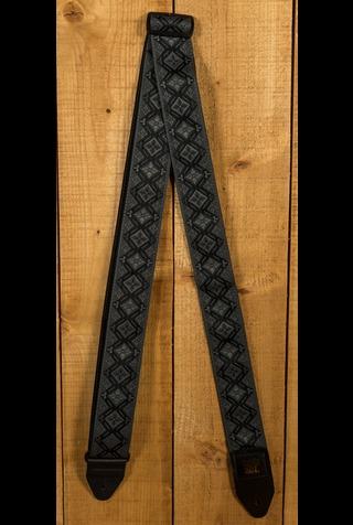 Ernie Ball Classic Jacquard Strap Regal Black