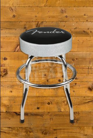 "Fender 24"" Silver Sparkle Barstool"
