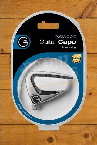 G7TH Newport Acoustic Capo - Silver