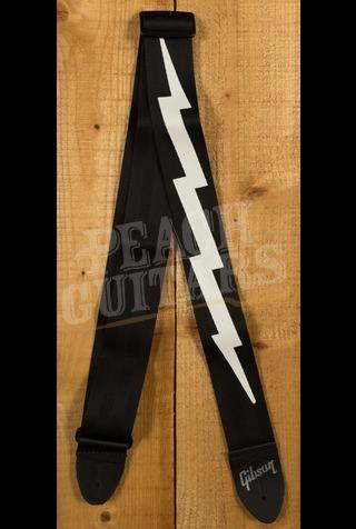 Gibson The Lightning Bolt Seatbelt Strap (Black)