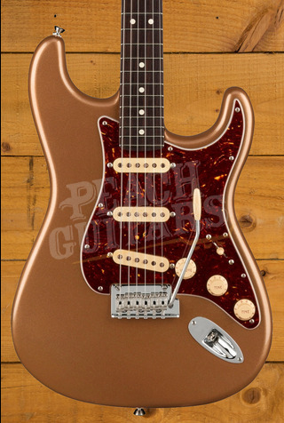 Fender Limited Edition American Professional II Stratocaster Firemist Gold w/Rosewood Neck