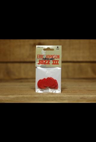 Dunlop Picks - Eric Johnson Signature Jazz III - Players Pack