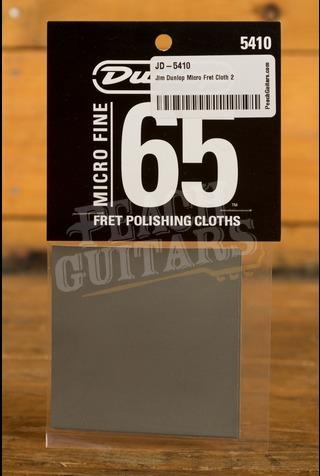 Jim Dunlop Micro Fret Cloth 2 Pack