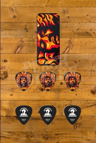 Dunlop Picks - Jimi Hendrix Pick Tin