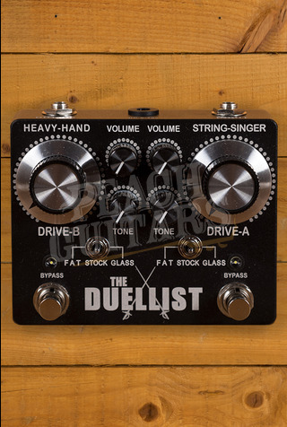 King Tone Guitar - The Duellist - Dual Overdrive pedal V2