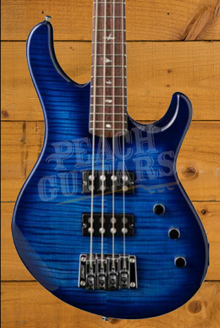 PRS SE Kingfisher - Faded Blue Wrap Around Burst
