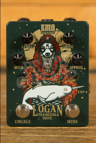 KMA Logan Overdrive Pedal with switchable Mid Boost