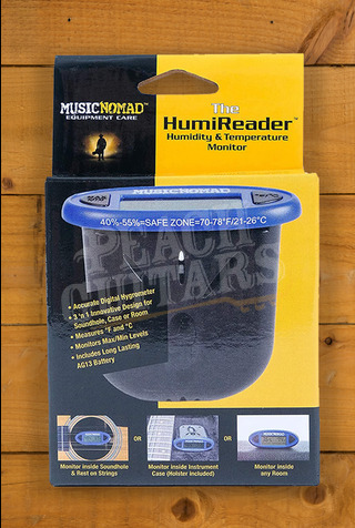 Music Nomad The HumiReader - Humidity and Temperature Monitor