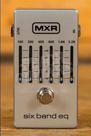 MXR Six Band EQ Silver