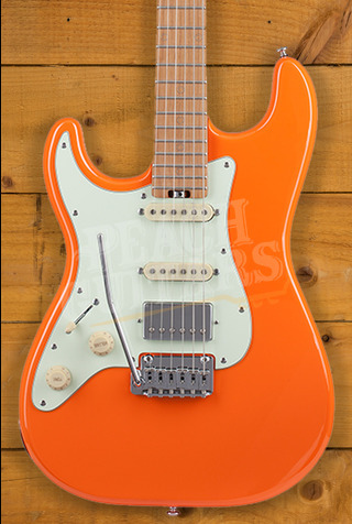 Schecter Nick Johnston TRAD HSS Atomic Orange LH
