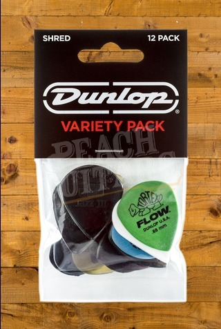 Dunlop Picks - Variety - Shred - Player Pack 12