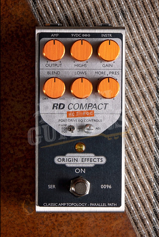 Origin Effects Revival Drive Compact Hot Rod