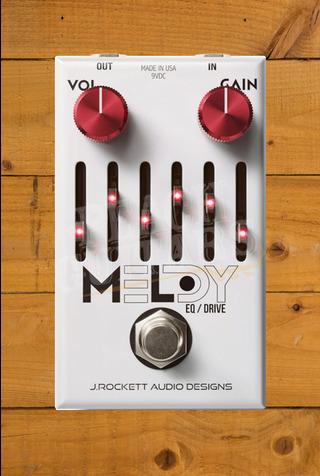 Rockett Pedals Melody Mark Lettieri Overdrive & 6 Band Graphic EQ