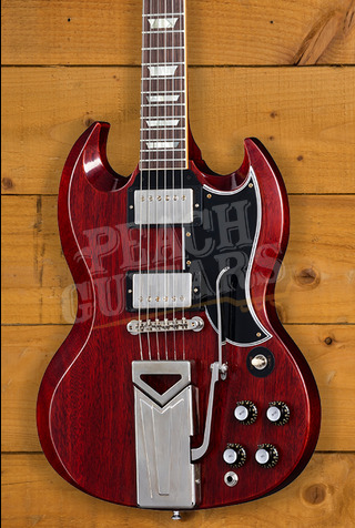 Gibson Custom 60th Anniversary '61 Les Paul SG Standard VOS Cherry Red