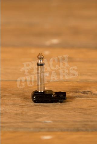 SquarePlug SP400BK Low Profile TS RA 6.35mm Jack Black