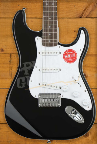 Squier Bullet Stratocaster Hardtail - Black