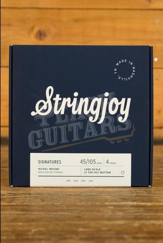Stringjoy Light Top/Heavy Bottom 4 String Long Scale Nickel Wound 45-105
