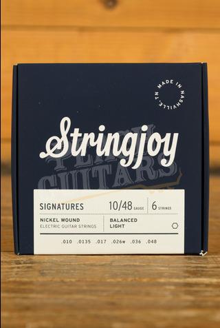 Stringjoy Signatures Balanced Light Nickel Wound 10-48