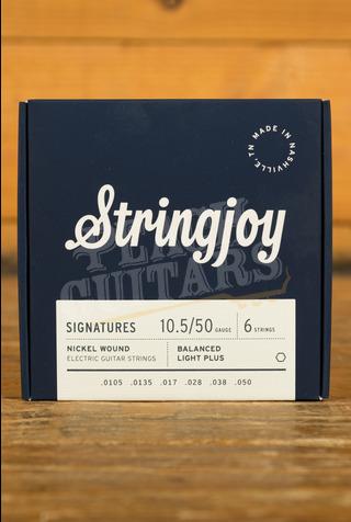Stringjoy Signatures Balanced Light Plus Nickel Wound 10.5-50