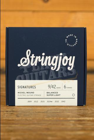 Stringjoy Signatures Balanced Super Light Nickel Wound 9-42