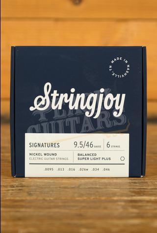 Stringjoy Signatures Balanced Super Light Plus Nickel Wound 9.5-46
