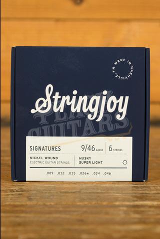 Stringjoy Signatures Husky Super Light Nickel Wound 9-46