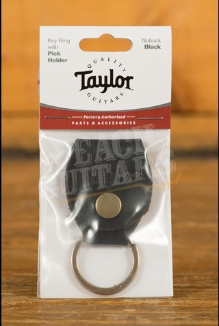 Taylor - Keyring w/Pick Holder, Nubuck Black