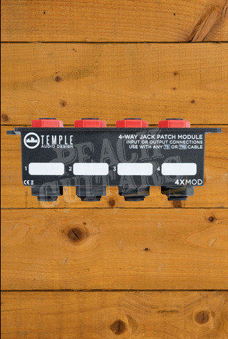 Temple Audio 4-Way Jack Patch Module