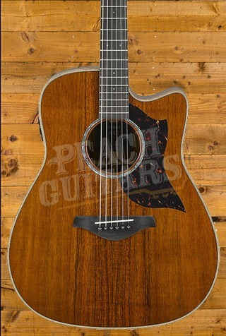 Yamaha A4K Limited All Solid Wood Koa Acoustic Guitar