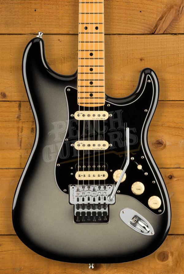 Fender Ultra LUXE Strat HSS FR Maple Silverburst