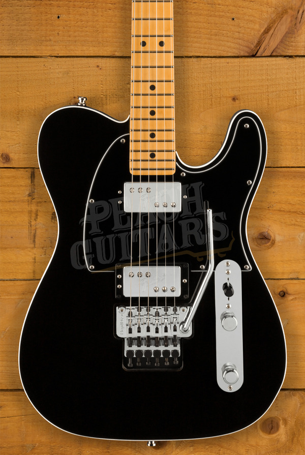 Fender Ultra LUXE Tele HH FR Maple Mystic Black