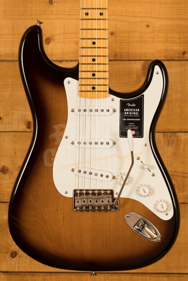 Fender American Original '50s Strat - Maple Board, 2-Colour Sunburst