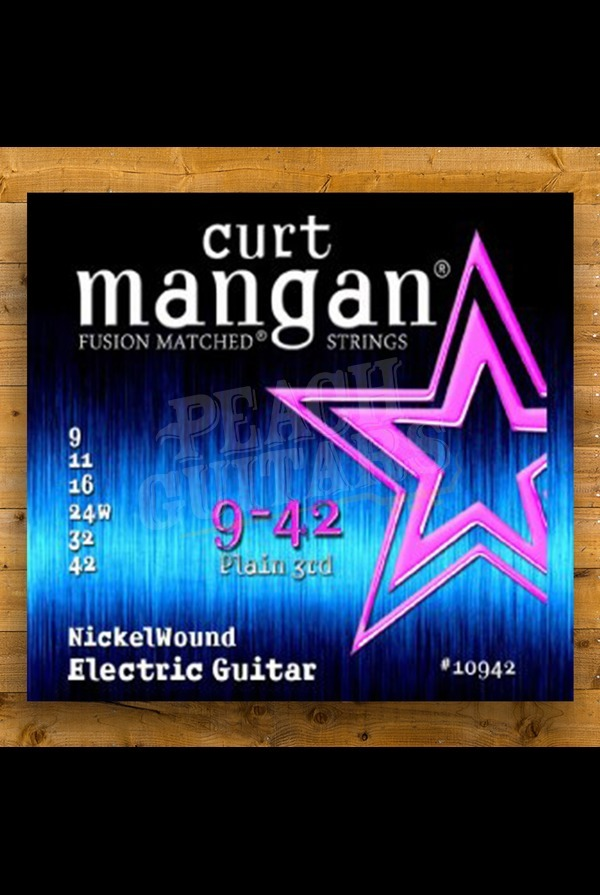 Curt Mangan 9-42 Nickel Wound