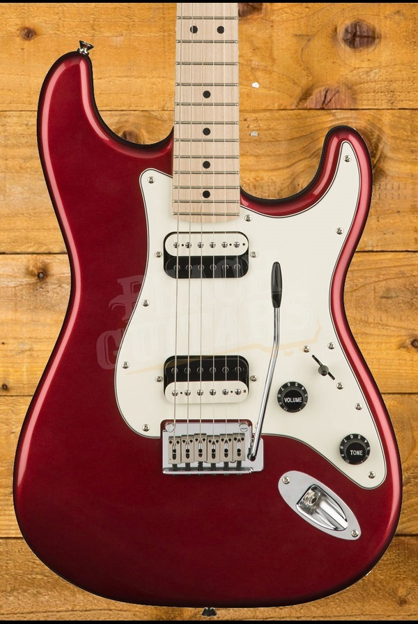 Squier Contemporary Stratocaster HH Dark Metallic Red