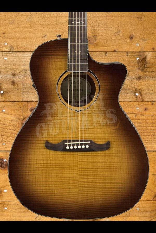 Fender FA-345CE Auditorium Electro Acoustic 3-Tone Tea Burst
