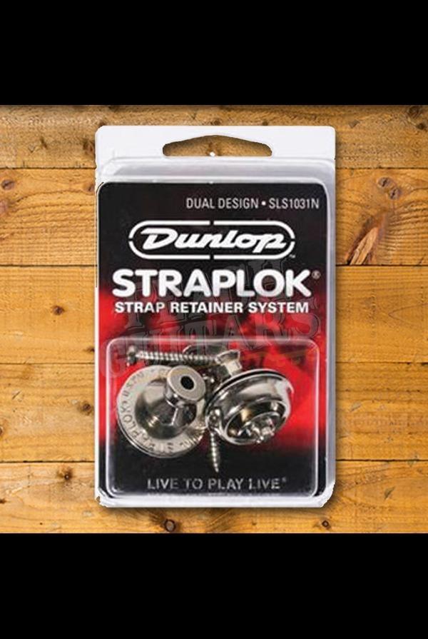 Dunlop Straplock set Nickel