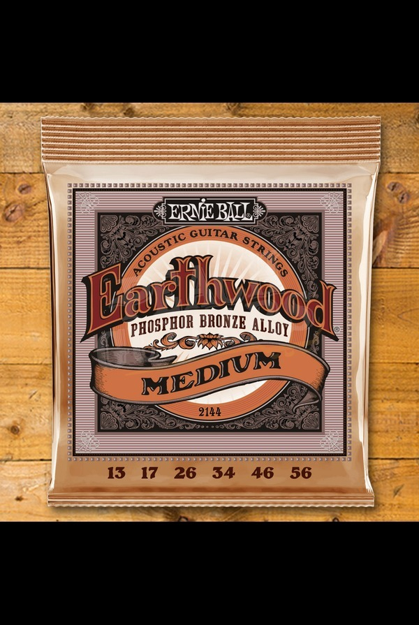 Ernie Ball Earthwood Phosphor Bronze 13-56