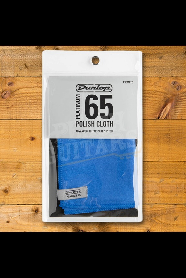 Jim Dunlop Platinum 65 Suede Microfiber Cloth