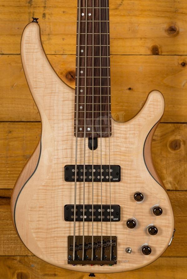 Yamaha TRBX605FM 5-String Bass Natural Satin