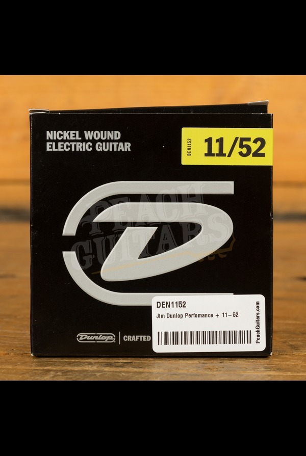 Jim Dunlop Perfomance + 11-52 Nickel Wound Electric Guitars Strings