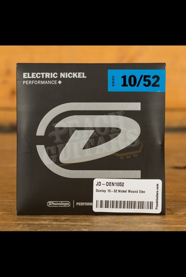 Dunlop 10-52 Nickel Wound Electric