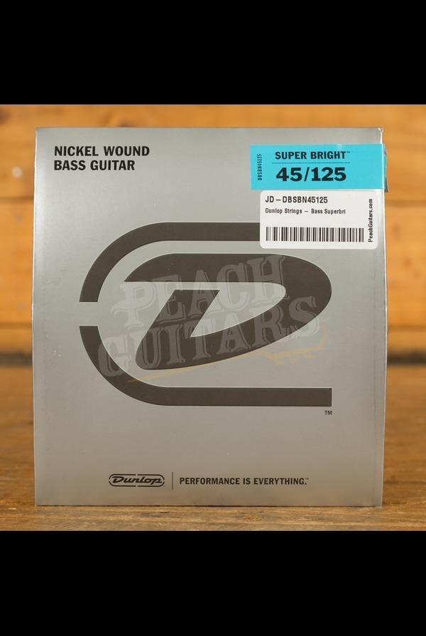 Dunlop Strings - Bass Superbright Nickel - 5 String Medium 45-125