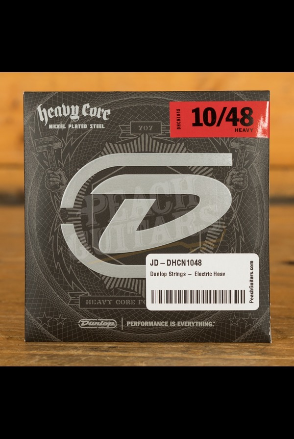 Dunlop Strings - Electric Heavy Core - 10-48