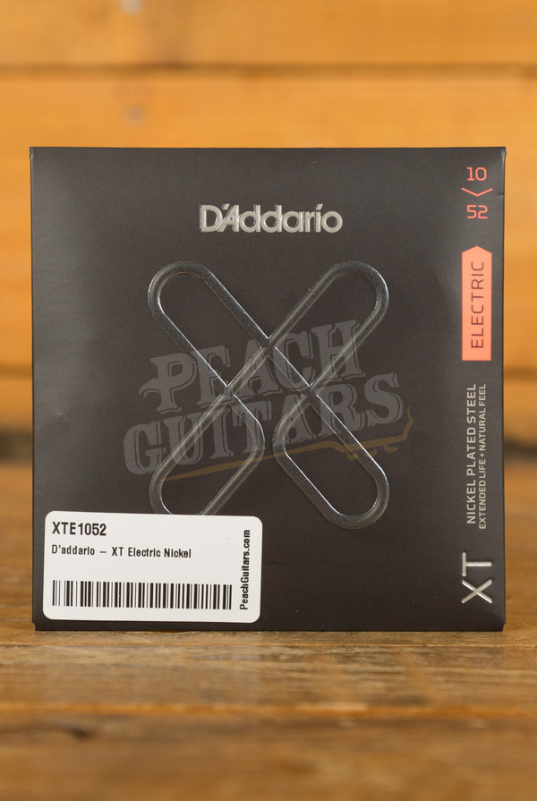 D'addario - XT Electric Nickel Plated Steel, Light Top/Heavy Bottom, 10-52