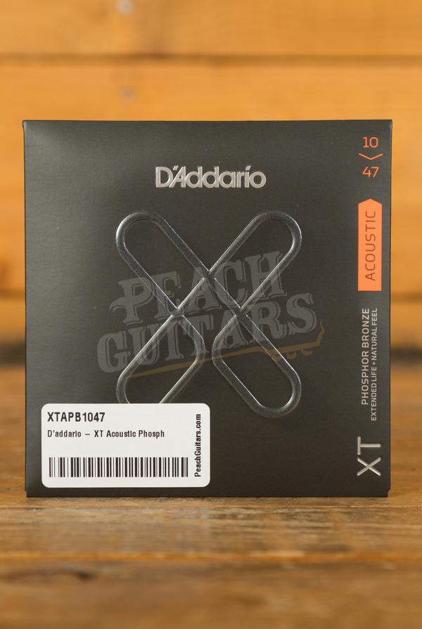 D'addario - XT Acoustic Phosphor Bronze, Extra Light, 10-47