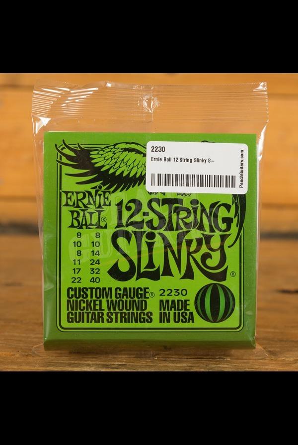 Ernie Ball 12 String Slinky 8-40